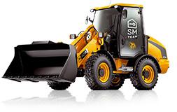 maszyna budowlana - ładowarka JCB 406